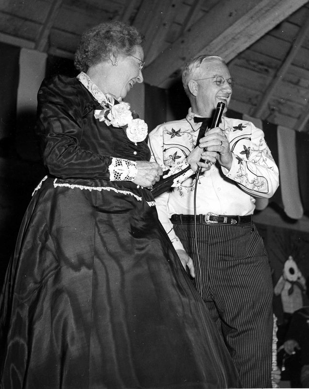 Pappy & Dorothy with Mic.jpg