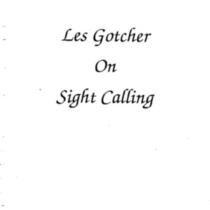 Les Gotcher - sight calling.PDF