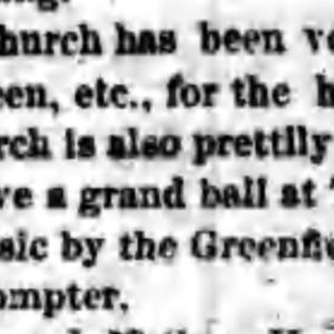 Putnam, John - prompter - Town Hall Ball - 27 Dec 1869.png