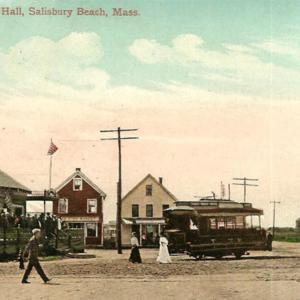 SALISBURY BEACH, MA - Round Dance Hall, Trolley, Square, Fish Market.jpg