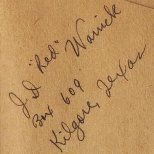 Red Warrick on Dude Records autograph.jpg