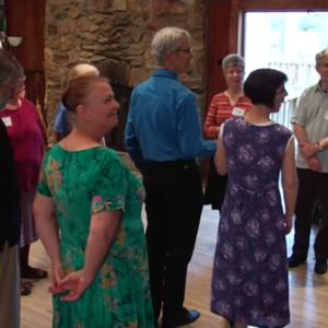 Chain 2 Ladies, Chain 3 Ladies (walkthrough) - Bill Litchman, Traditional Western Square Dances 2a