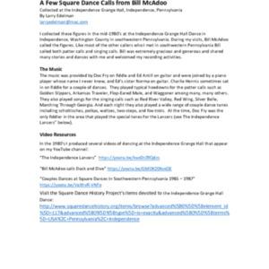 Square Dance Calls from Bill McAdoo.pdf